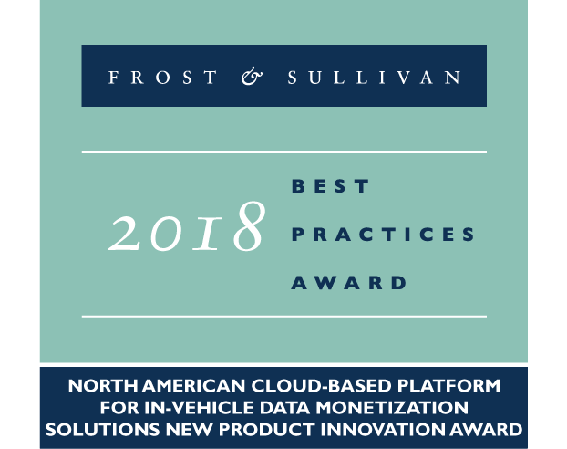 Frost & Sullivan Best Practices Award 2018
