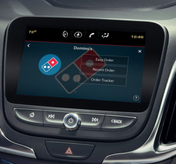 Domino's in-car ordering Xevo Market