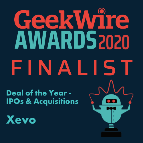 Xevo GeekWire Awards 2020