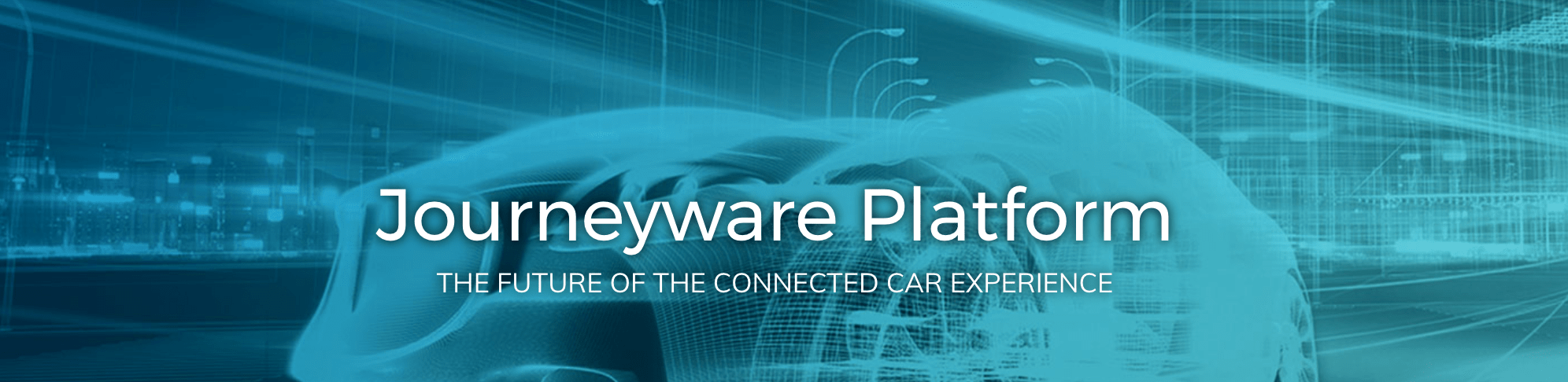 Journeyware Connected Car Platform